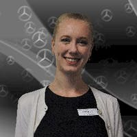 Caroline Eva at Mercedes-Benz of Natick