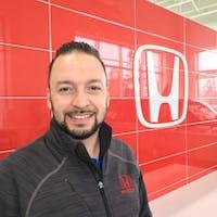Giovanni Baldassarre at Alberta Honda