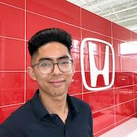Clarence  Magnaye at Alberta Honda