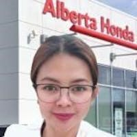 Juliet Rafal at Alberta Honda