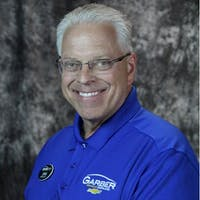 Craig  Blacklidge at Garber Chevrolet Highland