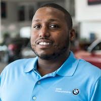 Marquis Mischeaux at Autohaus BMW