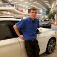 Ethan Krysiak  at Autohaus BMW - Service Center