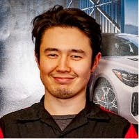 Ali  Bizhanov at Winnipeg Kia