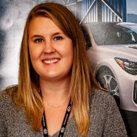 Shelley Hay at Winnipeg Kia