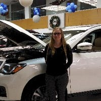 Candice Sambray at Barrie Nissan