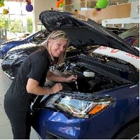 Nicole Balado at Barrie Nissan