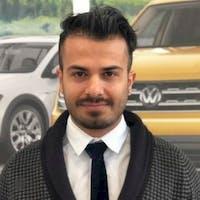 Masood (Masy) Naderi at Bramgate Volkswagen