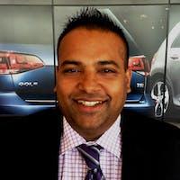 Ali Jamal at Bramgate Volkswagen