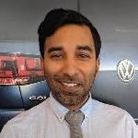 Andre Sharma at Bramgate Volkswagen