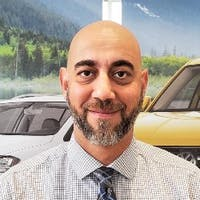 Michael Santacroce at Bramgate Volkswagen