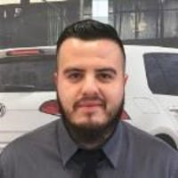 Marco  Orellana at Bramgate Volkswagen