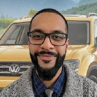 Richey Bajwa at Bramgate Volkswagen