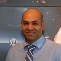 Sudir  Luthra at Bramgate Volkswagen