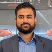 Naush Adil at Bramgate Volkswagen
