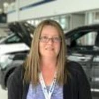 Tina Helderweirt at Cam Clark Ford Airdrie