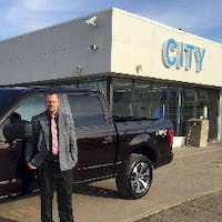 Kyle Needham at City Ford