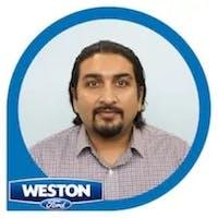 Khurram Rehman at Weston Ford