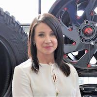 Sarah Yaremcio at Kelowna Chevrolet