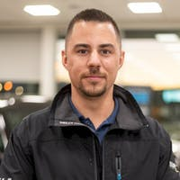 Jordan  Arscott at Kelowna Chevrolet
