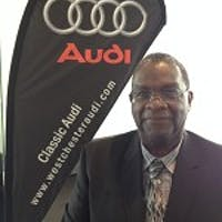 Clive Perkins at Classic Audi