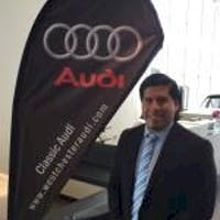 Richard Benitez at Classic Audi