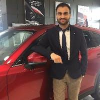 Sahil Bagga at Go Mazda