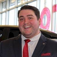 Evan  Burow at Ericksen Nissan