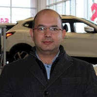 Ryan  salman at Ericksen Nissan