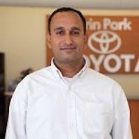 Nitin Wahi at Erin Park Toyota