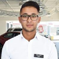 Malik Usama at Erin Park Toyota