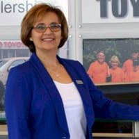 Joanne Gordon at Frayne's Exeter Toyota