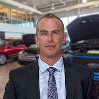 Jeff  Warriner at Cam Clark Ford Red Deer
