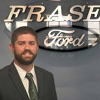 Aaron Verwey at Fraser Ford Sales Limited
