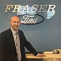 Jarrod  Foubert at Fraser Ford Sales Limited