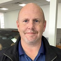 Kyle  Fountain at Red Deer Nissan