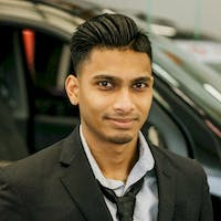 Kevin  Budhnarine  at Red Deer Nissan
