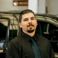 James  Pfeiffer at Red Deer Nissan