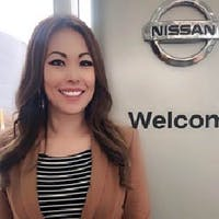 Heather  Byun at Red Deer Nissan