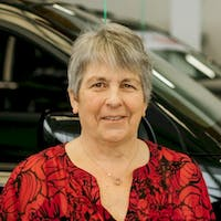 Norma White at Red Deer Nissan