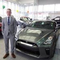Daniel  Voicey at Red Deer Nissan