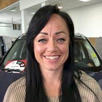 Crystal  Anderson at Red Deer Nissan