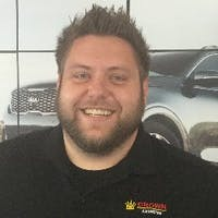 Blake Rexford at Crown Kia Mitsubishi