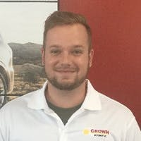 Ryan  Smith  at Crown Kia Mitsubishi