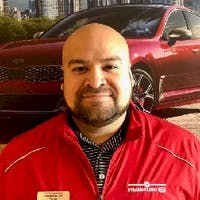 Tyron Burgos at Straightline Kia