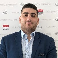 David Aiman at Toyota Northwest Edmonton