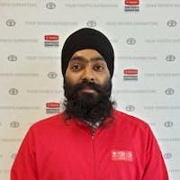 Amritpal Singh  at Toyota Northwest Edmonton