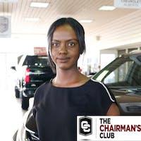Muna  Jama  at Lakewood Chevrolet