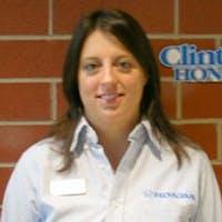 Christi Dickson at Clinton Honda