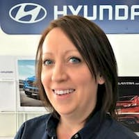Amanda Kruger at Lauria Hyundai